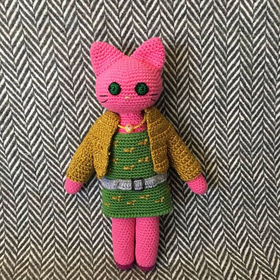 Ginger cat amigurumi pattern - Amigurumi Today | 570x570