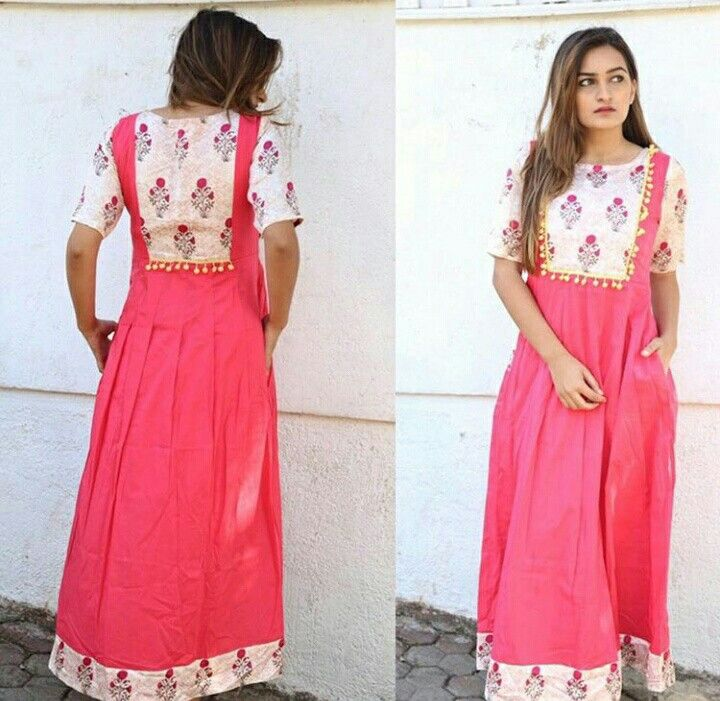 e9456a1309a Pink Pom Pom Cotton Maxi Dress.Mumbai based..Delivery all over India and