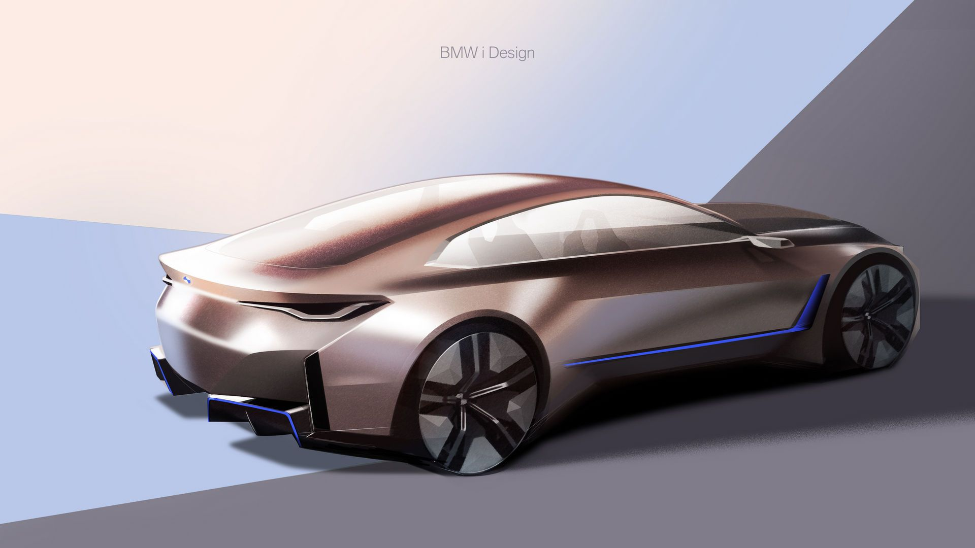 Bmw Concept I4 Previews Production Model Coming In 2021 Carscoops In 2020 Bmw Concept Bmw Design Bmw