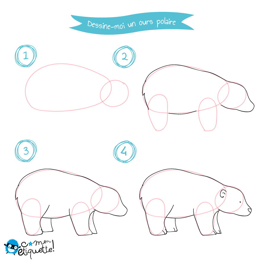 Tutoriel Animaux Pole Nord Dessin How To Draw Dessin Ours