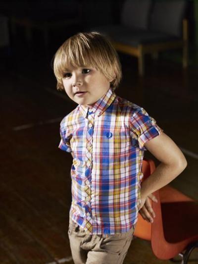 Jack zou dit hemdje super vinden. En zijn papa ook. #FredPerry