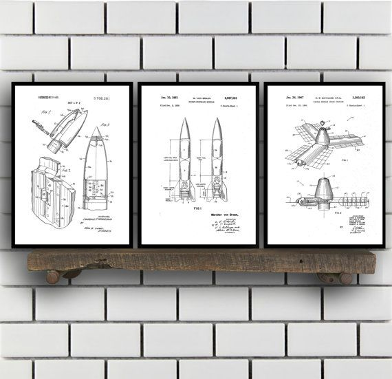 Space patents set of 3 prints space prints space posters space police patent set of three police patent art police art police poster police wall art police officer handcuffs police hat malvernweather Gallery