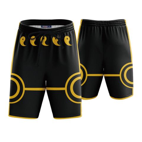 d4387185b6 Naruto Anime Black 3D Cosplay Boardshorts Swim Trunks #anime #shorts # boardshorts
