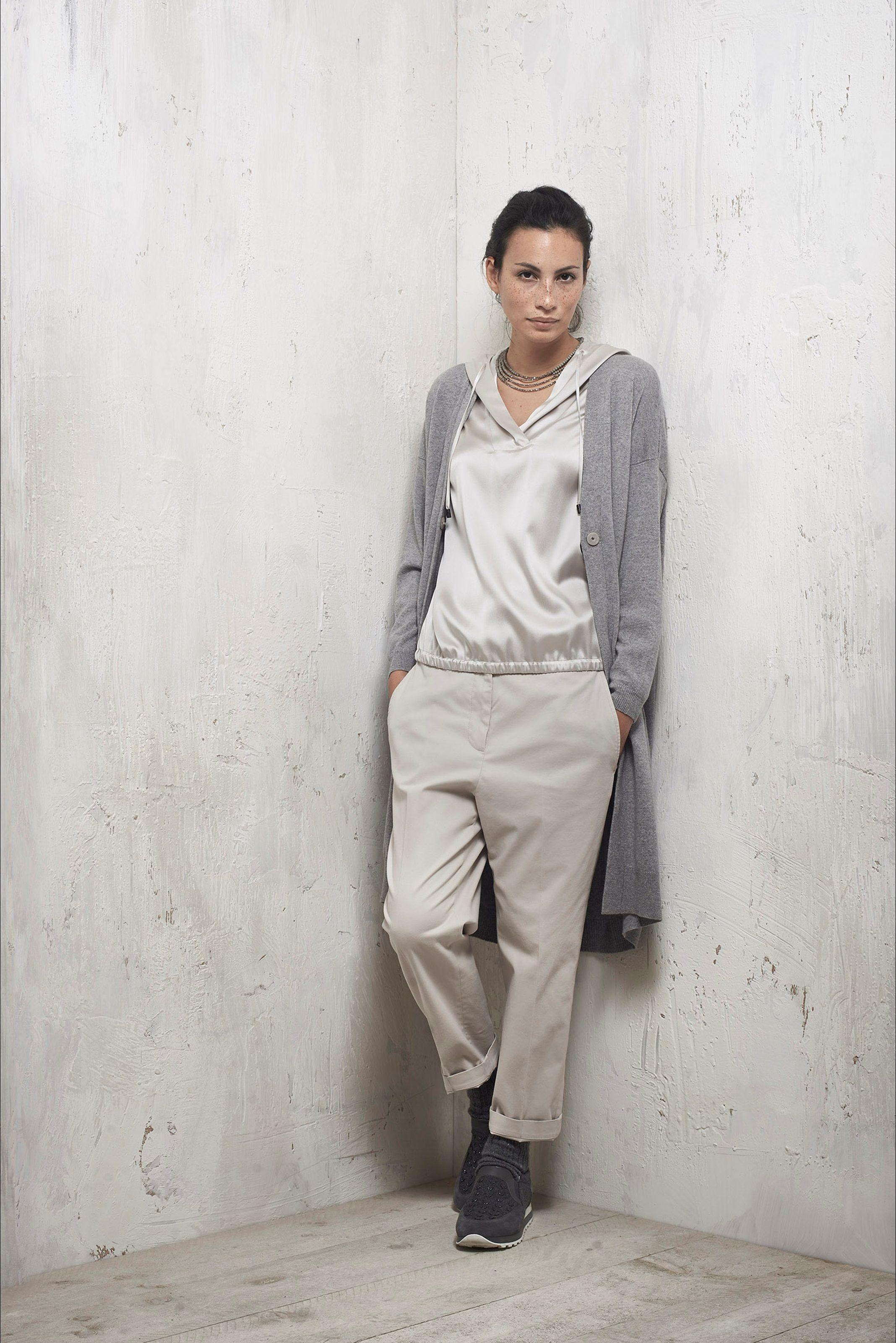 new style b4f14 1daeb Guarda la sfilata di moda Peserico a Milano e scopri la ...