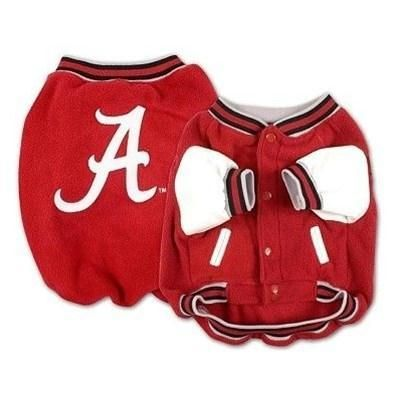 huge selection of 3e904 100f4 Alabama Crimson Tide Varsity Dog Jacket | Pets:B | Dog ...