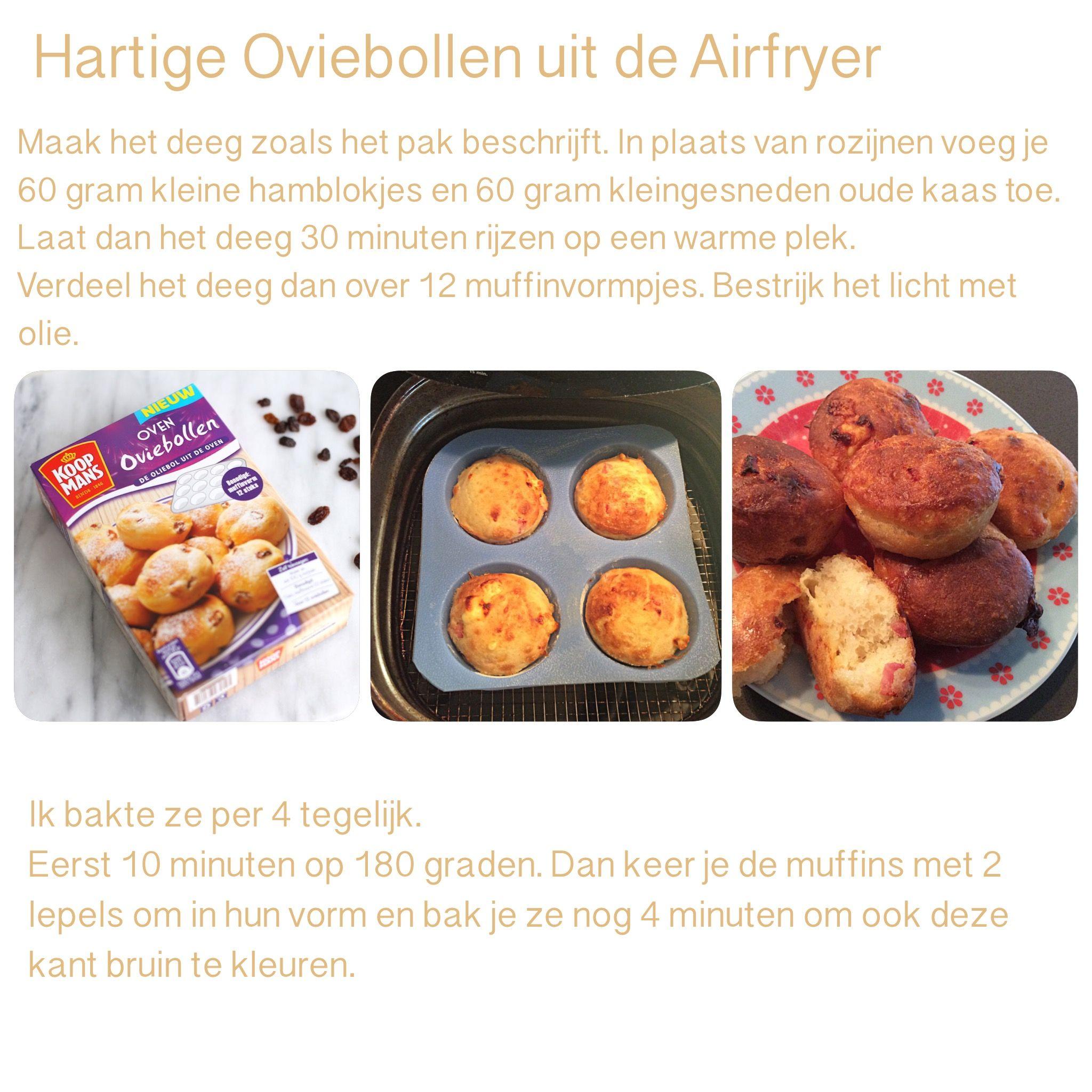 Hartige Oviebollen Uit De Airfryer 14 Minuten 180 Graden Ak