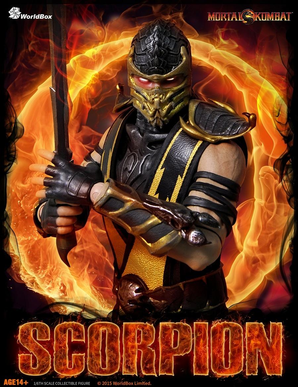 Mortal Kombat Scorpion 1 6 Figure By World Box 4th Qtr 2015 Mortalkombat Scorpion Finishhim Worldbox Onesixth Awesome Ninja Hellspawn Cool Instacool