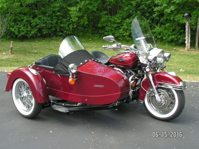 Harley Davidson 2002 Roadking Classic With 2014 Liberty Sidecar For