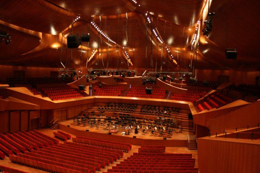 renzo piano sala santa cecilia auditorium parco della ForAuditorium Parco Della Musica Sala Santa Cecilia
