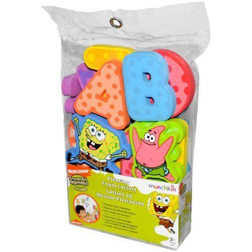 Sponge Bob Squarepants 12 Piece Foam Bath Puzzle
