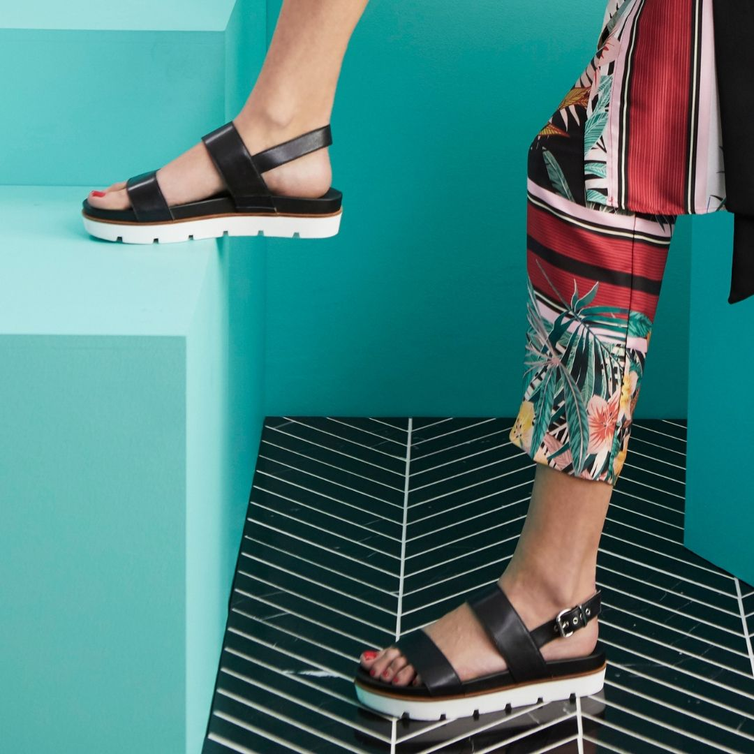 0facae966132 Meet RAYLA: a chic multi strap sport sandal in supple leather that's  ready-to