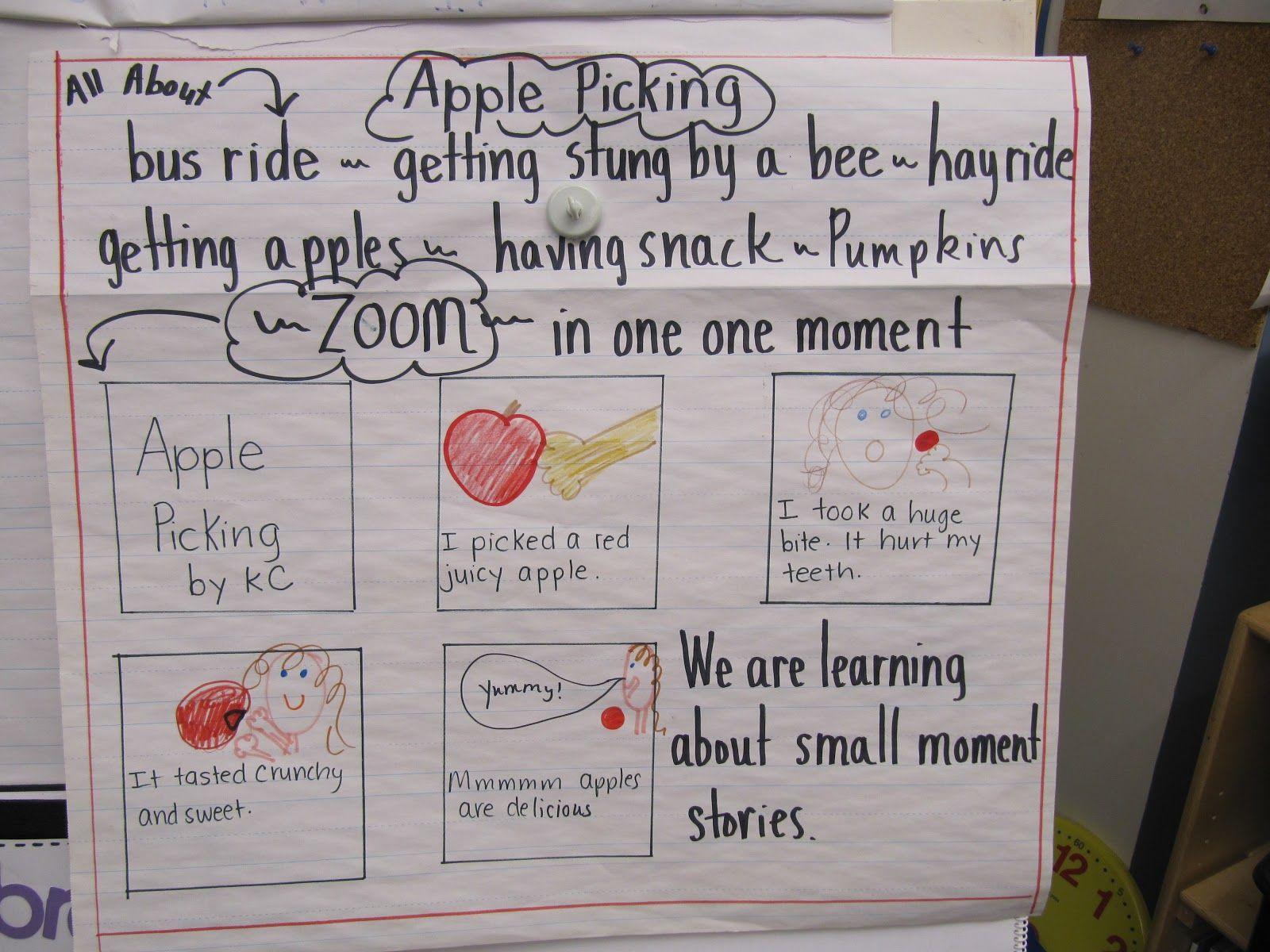 Small Moments Writing 2nd Grade