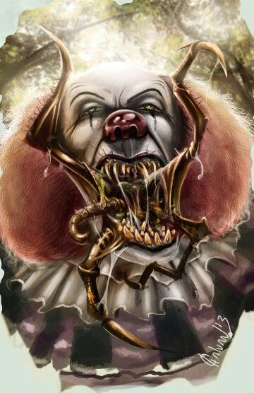 pennywise the clown true form  Pennywise assuming his true form | Pennywise the dancing ...