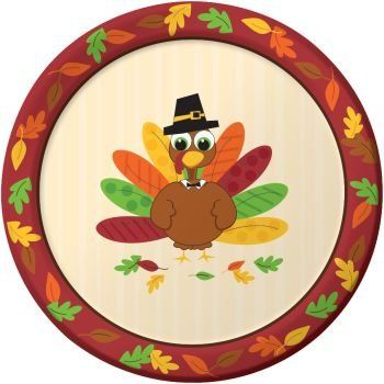 Thanksgiving Turkey Fun 9inch Paper Plates 8 Per Pack To View Further For This Item Visit The Image Link Thi Fun Plates Thanksgiving Paper Dinner Plates
