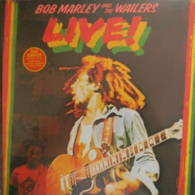 2001 - 548 896-1 - Bob Marley And The Wailers : Live! - Definitive Remasters Serie - Tuff Gong - Island Records