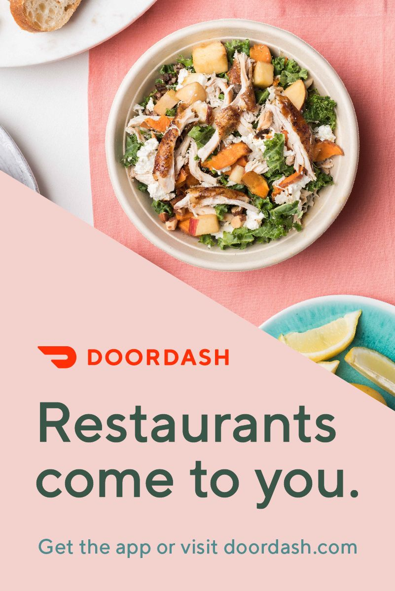 Doordash Offers A Selection Of More Than 250 000 Menus Across 3 000 Cities In The U S And Canada Get Your Favorite Rest Healthy Meals To Cook Recipes Cooking