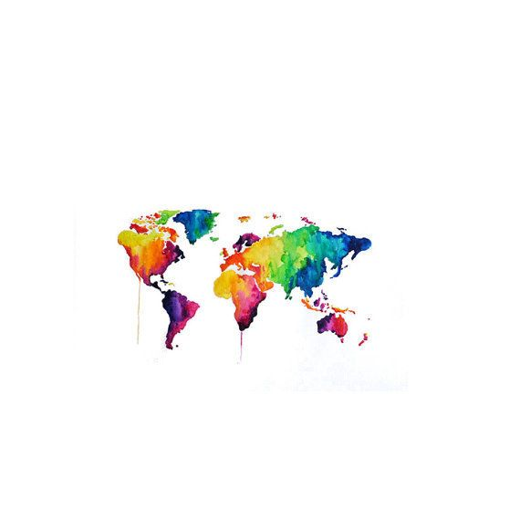 Or this watercolor world map tattoo tattoo designs and tatoo or this watercolor world map community post 23 temporary tattoos that will awaken gumiabroncs Gallery