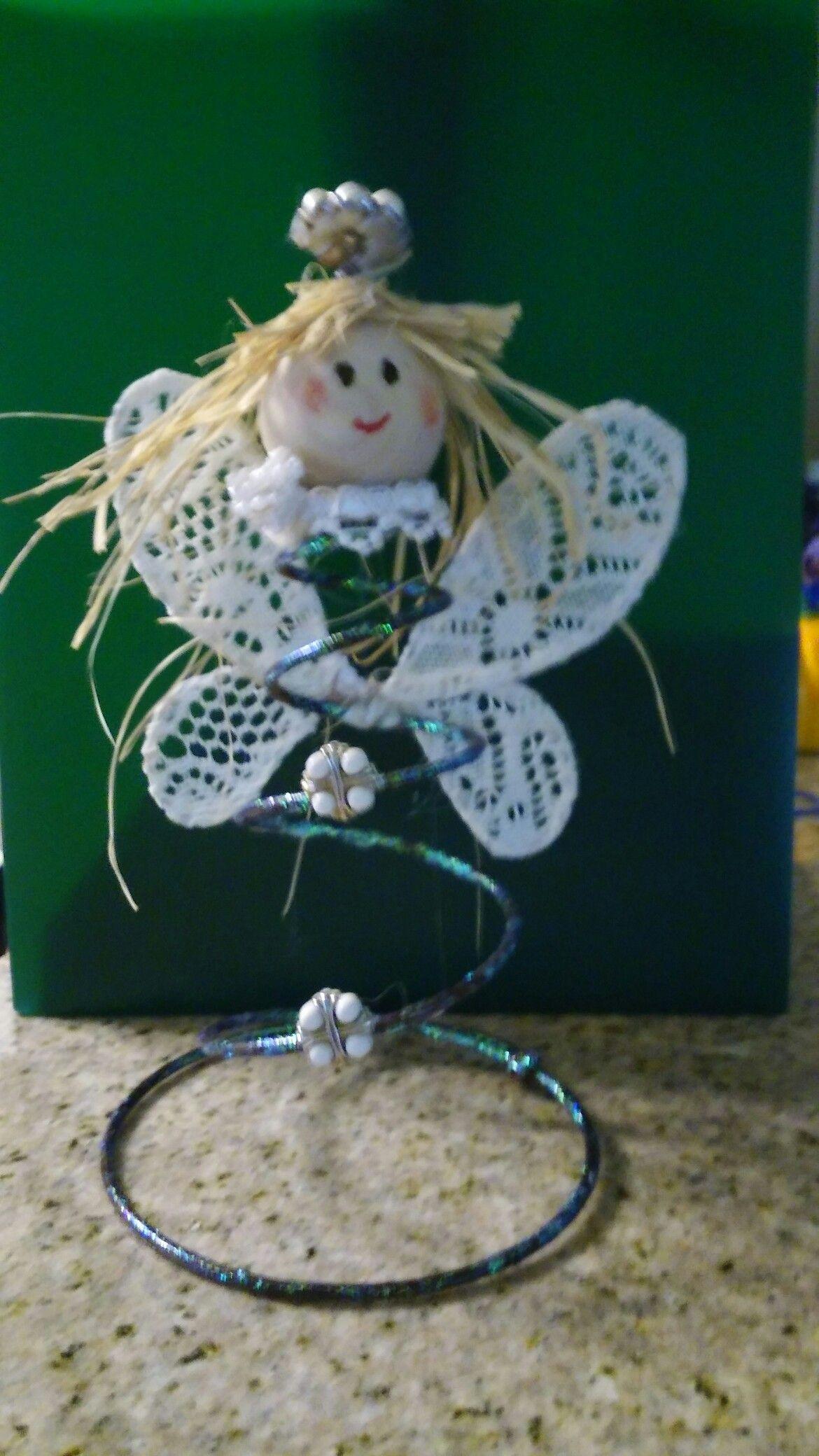 My first bedspring craft.