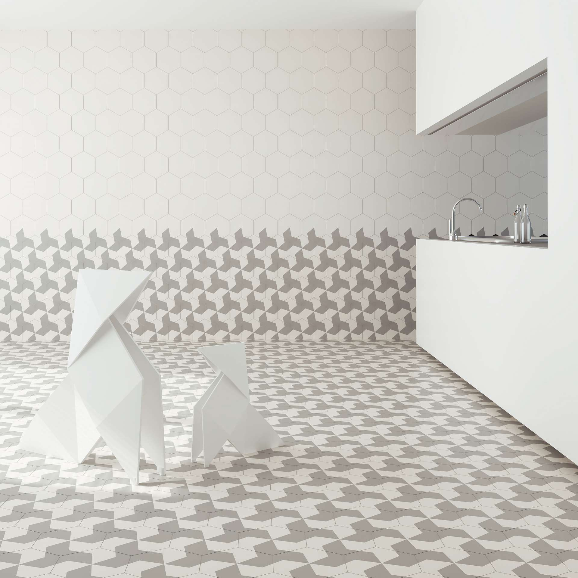 Encaustic cement tiles for high-end residential and commercial ...
