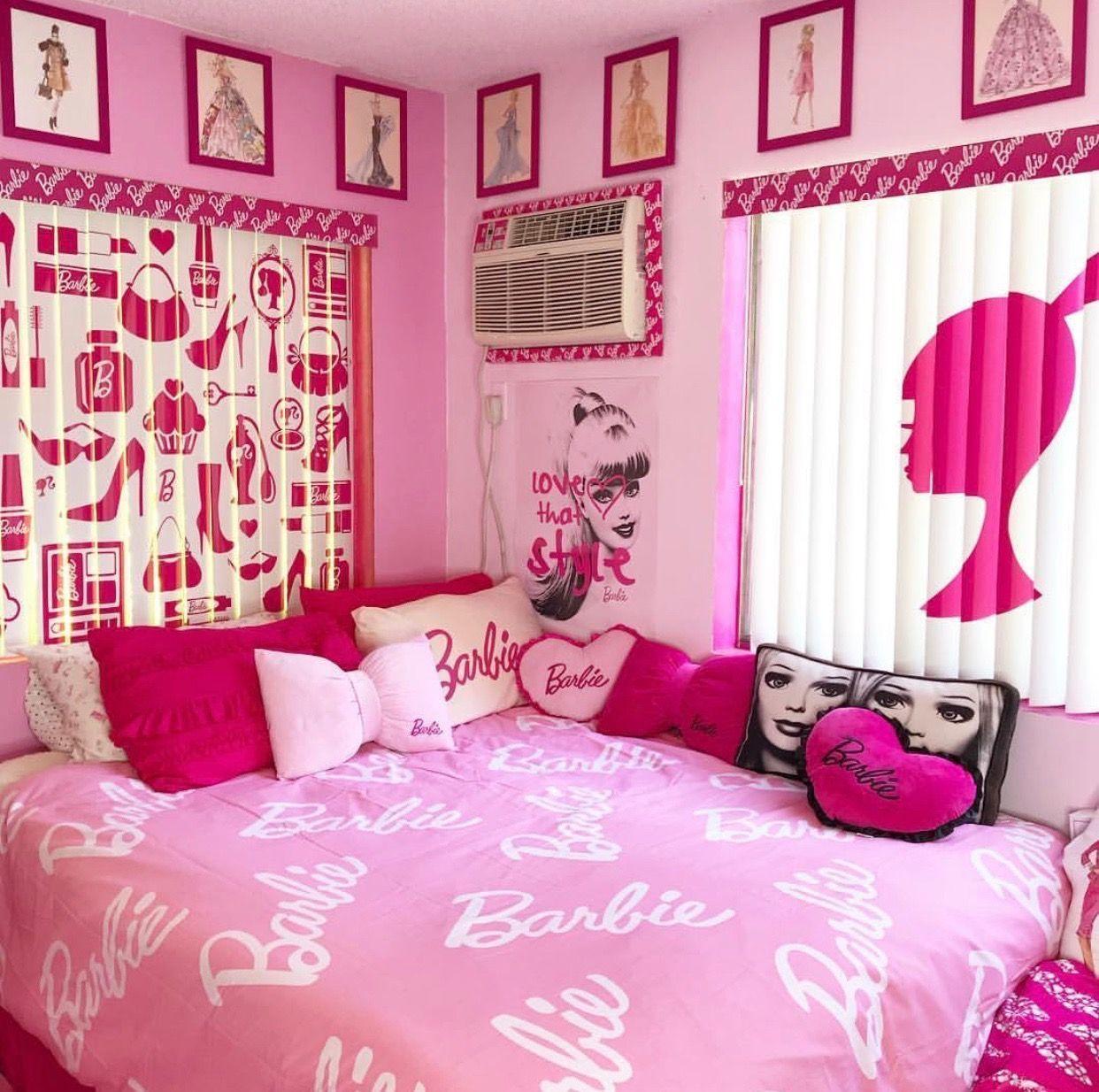 Barbie Room Ideas Bedrooms Pink ` Barbie Room Ideas
