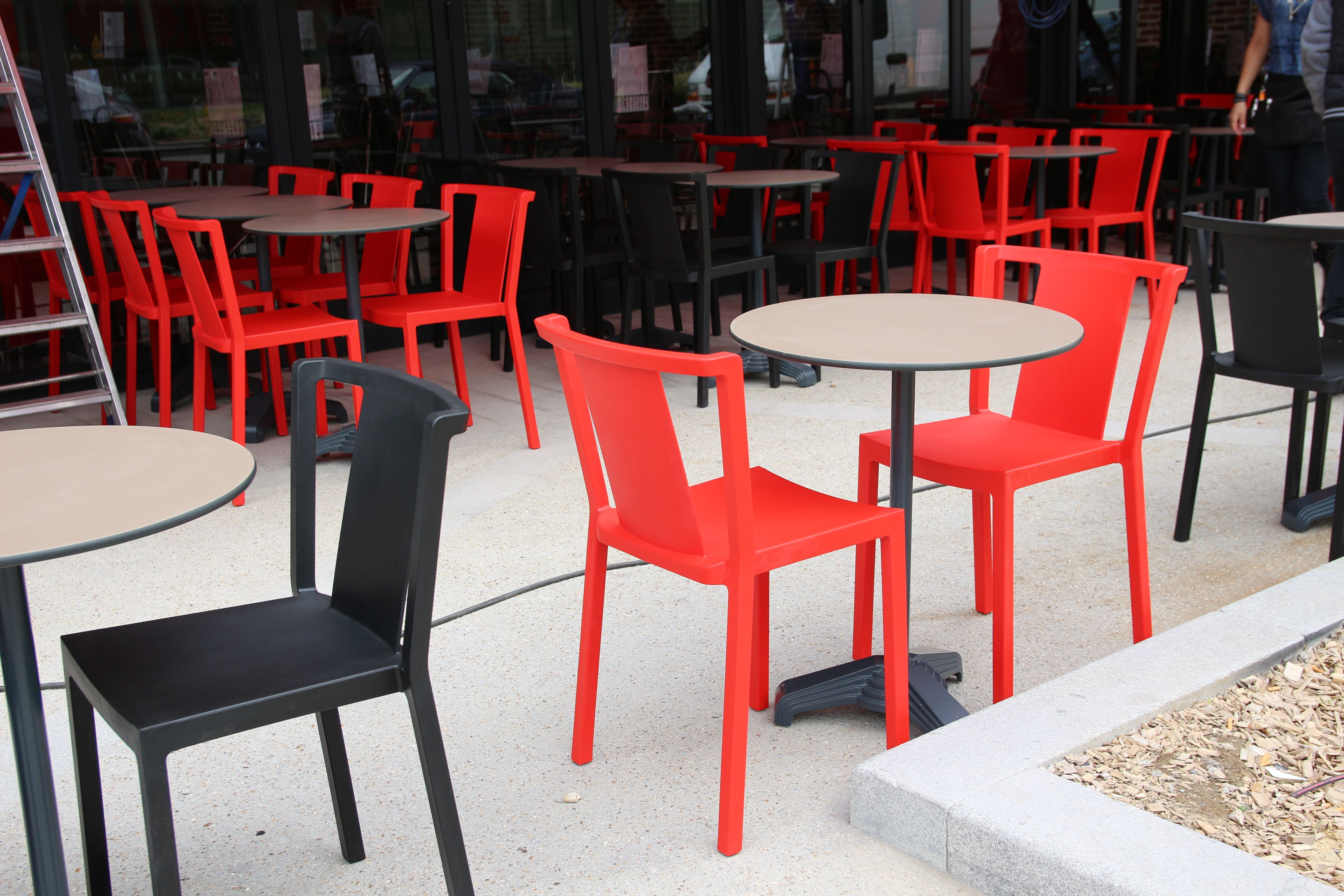 Terrasse Restaurant Mobilier Furniture Seat Stool Fauteuil Chaise Table Decoration Interior Chaise Terrasse Chaise Maison Du Monde Mobilier De Bar