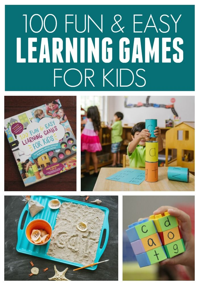 100 Fun And Easy Learning Games For Kids Toddler Approved