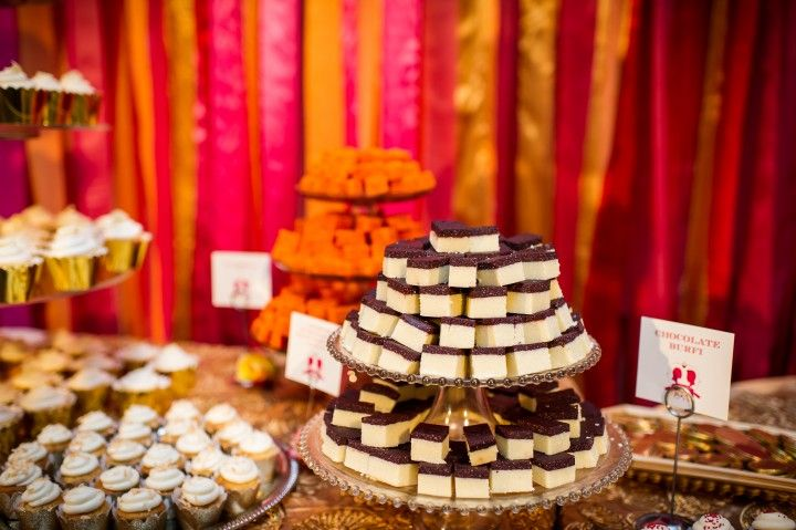 Indian Wedding Reception Desserts Treats In San Jose California By Mdc Sf Photography