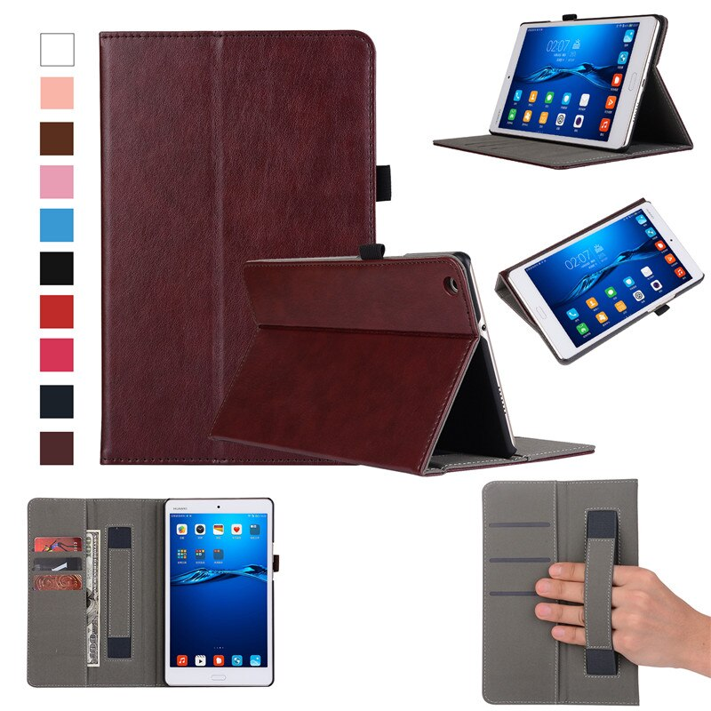 Leather Case For Huawei Mediapad M3 Lite 8 CPN-L09 Cover Handheld ...