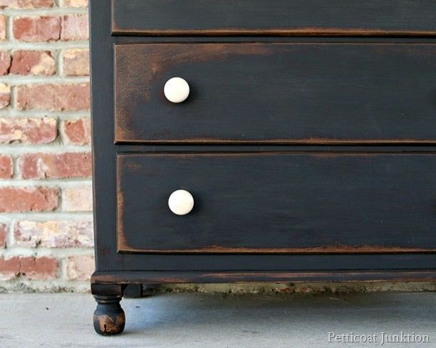 How To Make New Furniture Look Old In Five Easy Steps #oldfurniture