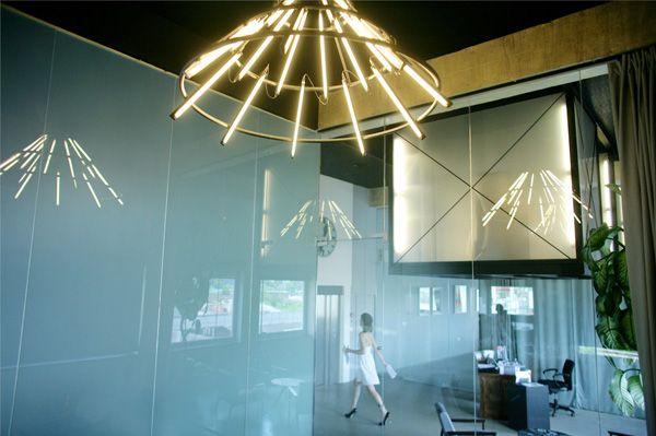 Светильники для рекламного агенства - Новости на LightOnline