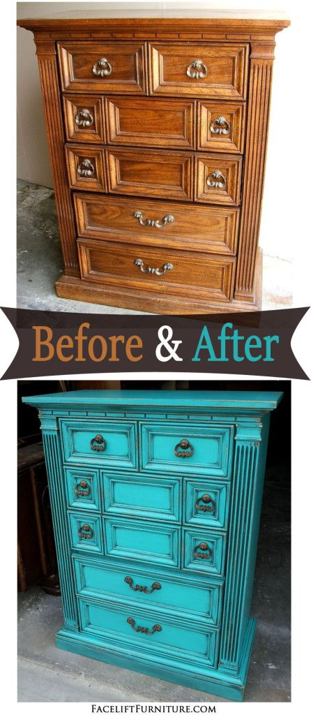 Repurposed Furniture Before And After Dresser Redo
