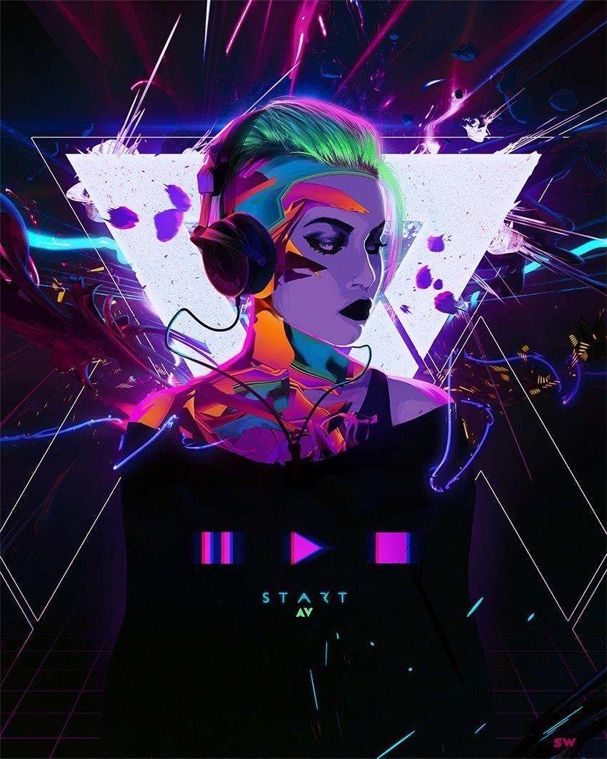 Cyberpunk Art Киберпанк (с изображениями) Киберпанк