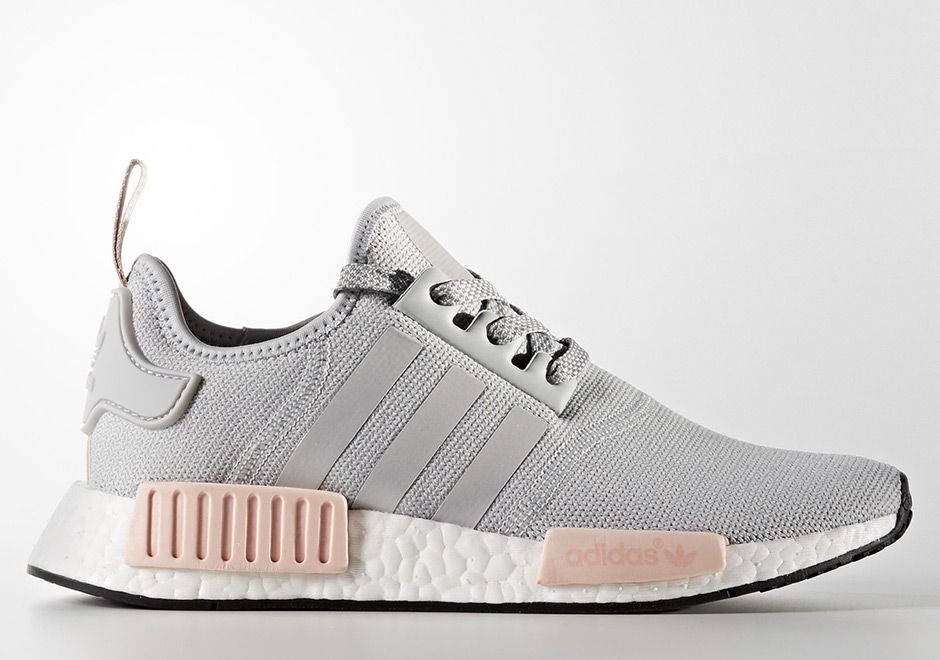 quality design 3faec 6b90c After dropping in limited supplies in January, the two womens NMD colorways  in grey and pink release again this weekend.