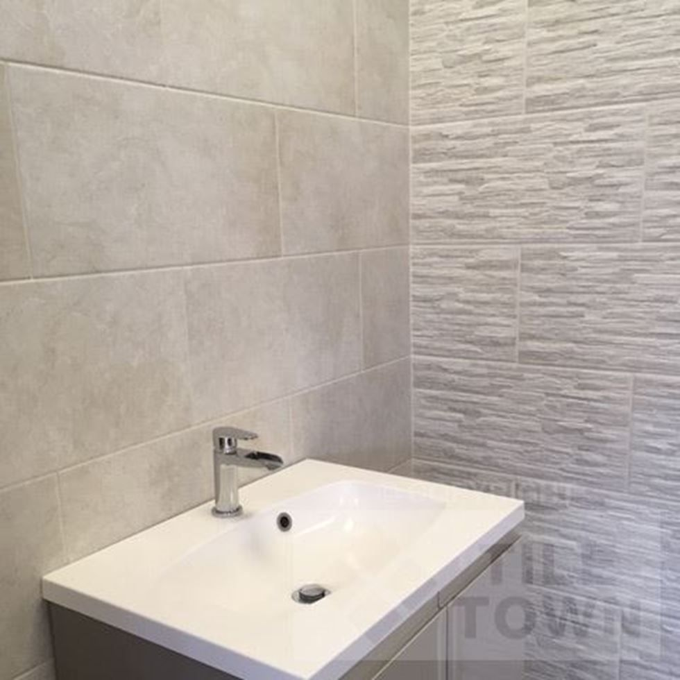 London Gris Brick Feature Wall Bathroom Wall Tile Wall Tiles