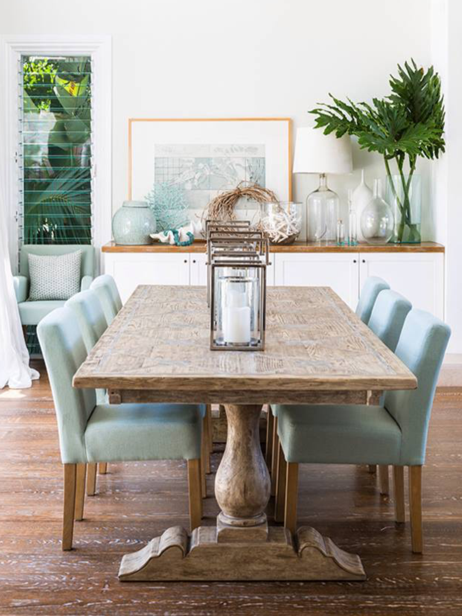 Coastal dining room | Coastal Style | Pinterest | Coastal, Room and ...