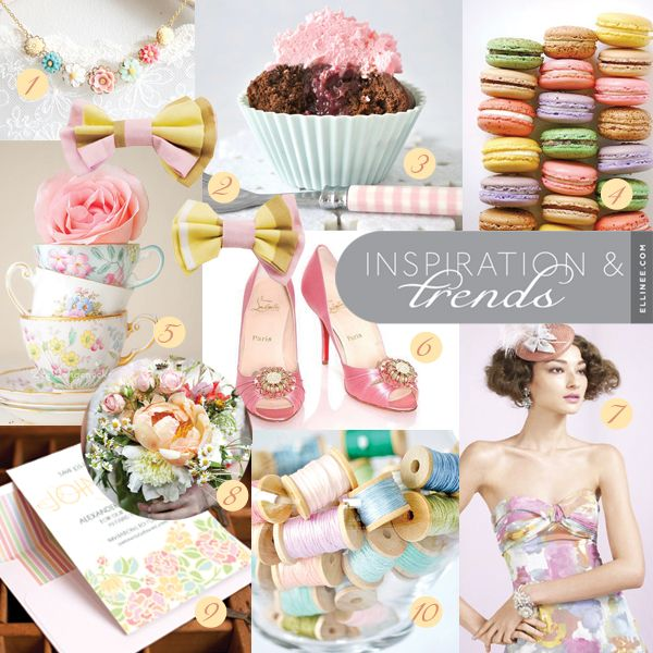 Spring Wedding Inspiration: French Macaron