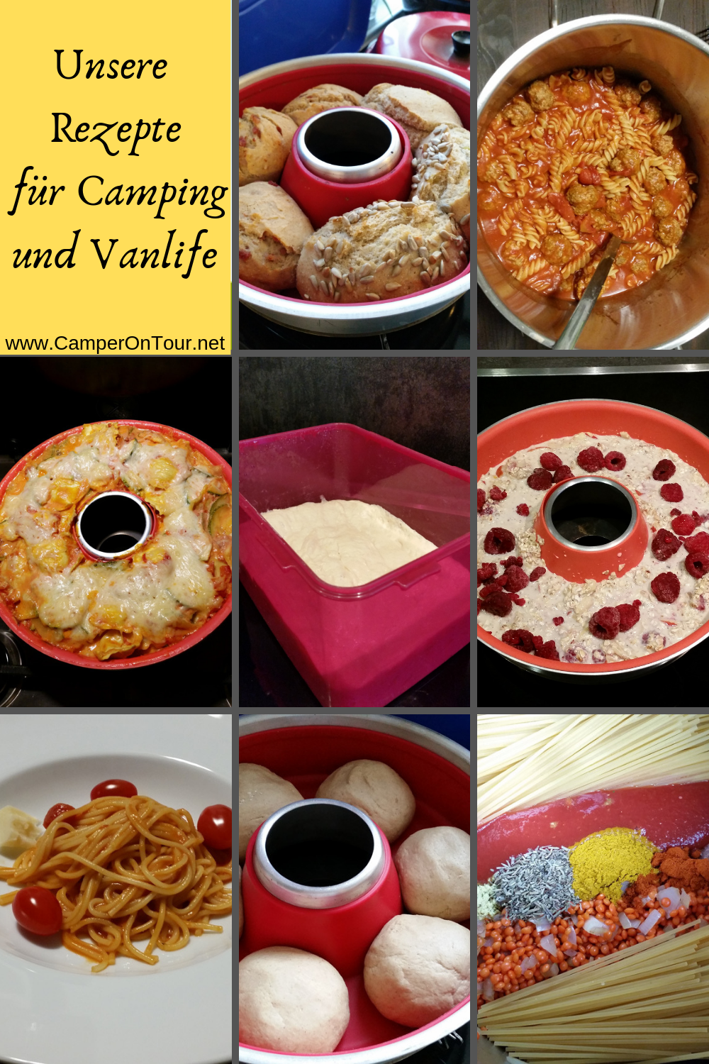 Photo of Recipes for the camping kitchen!