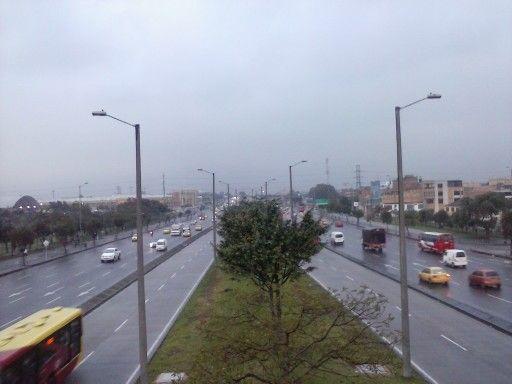 tarde fria en la ciudad de Bogotá