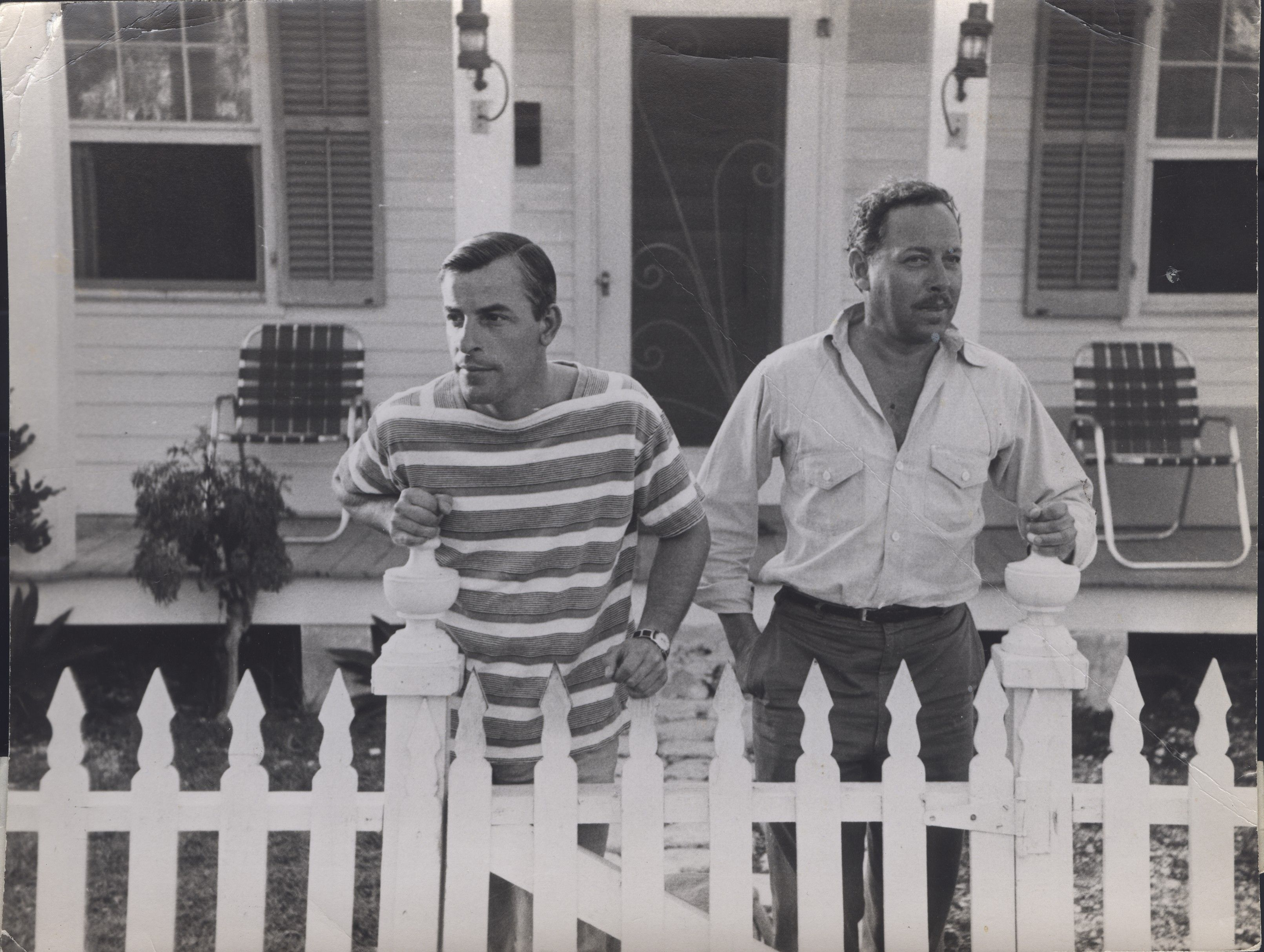 tennessee williams and his partner frank merlo from the book tennessee williams and his partner frank merlo from the book outlaw marriages by rodger