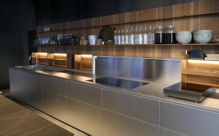 Piero Lissoni For Boffi Kitchen. Code Kitchen Project In Preview At  FuoriSalone 2016 | Salvioni