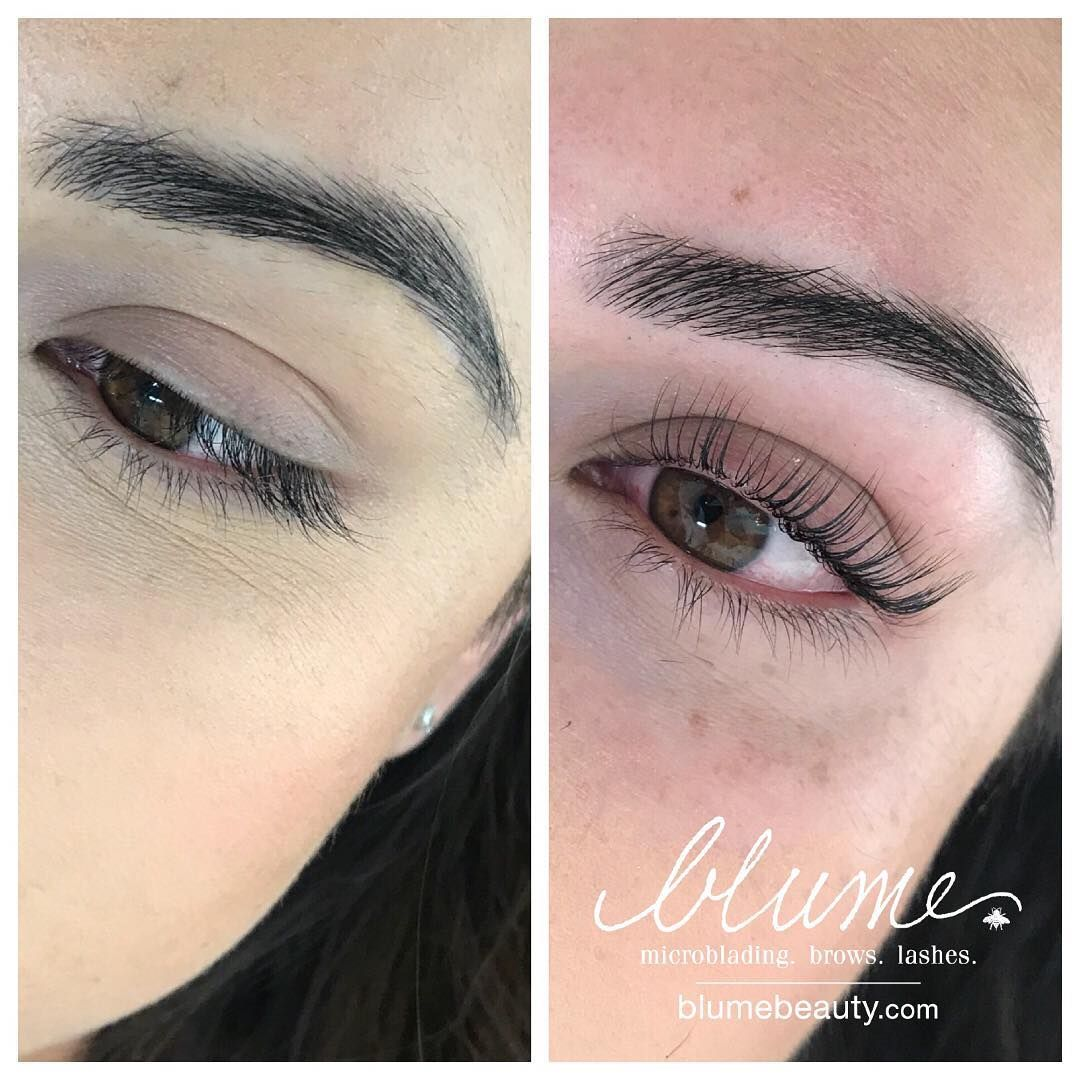 0a64aac804a Brows and Keratin Lash Infusion by yours truly. Book your session online at  www.styleseat.com/blume Come see me, you won't regret it!