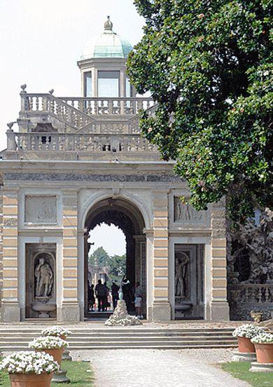 Villa Litta Lainate Garden Entrance - Lombardy, Italy