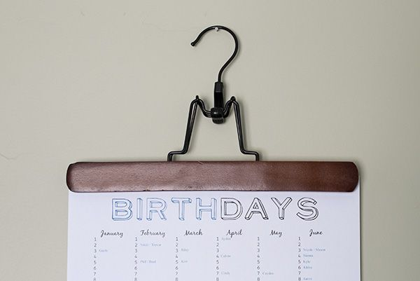 Free Printable Birthday List ~ Happy here is a free fillable and printable birthday