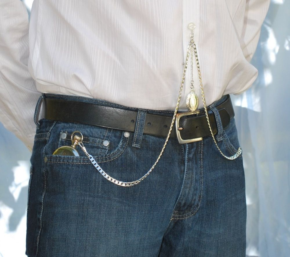 Buy Watch pocket and chain how to wear picture trends