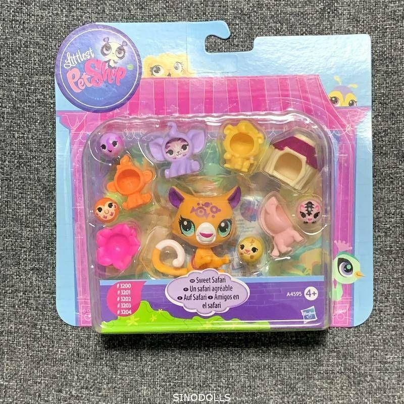 Littlest Pet Shop Figure Lps Toys Sweet Safari 3200 3201 3202 3203 3204 Hasbro In 2020 Lps Toys Littlest Pet Shop Little Pets