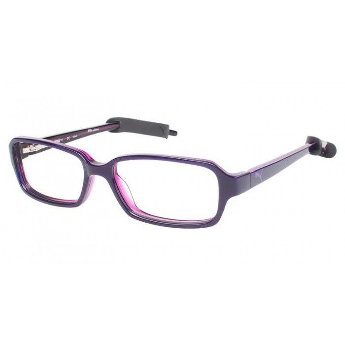 Puma PU 15384 Purple/Clear | Puma Eyeglasses | Pinterest | Pumas
