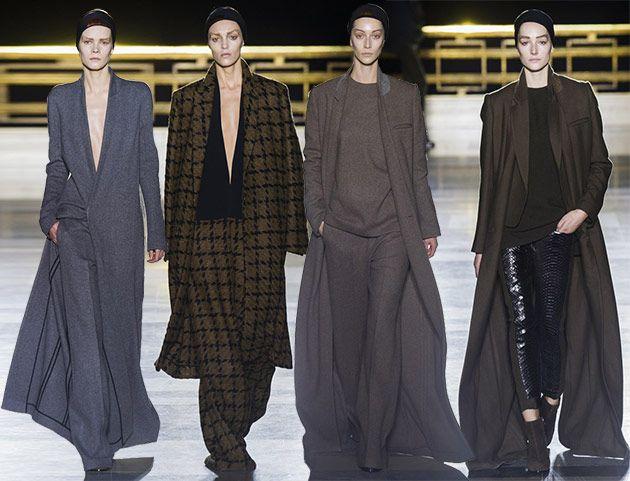 Haider Ackermann Fall/Winter 2014-2015 Collection - Paris Fashion Week  #ParisFashionWeek #fashionweek #PFW