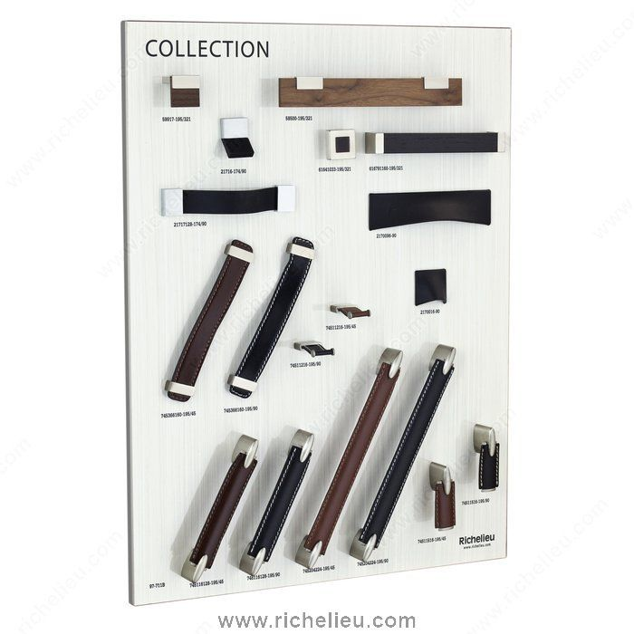 Closet Pulls Inspiration Collection Board   97711B   97711B   Richelieu  Hardware