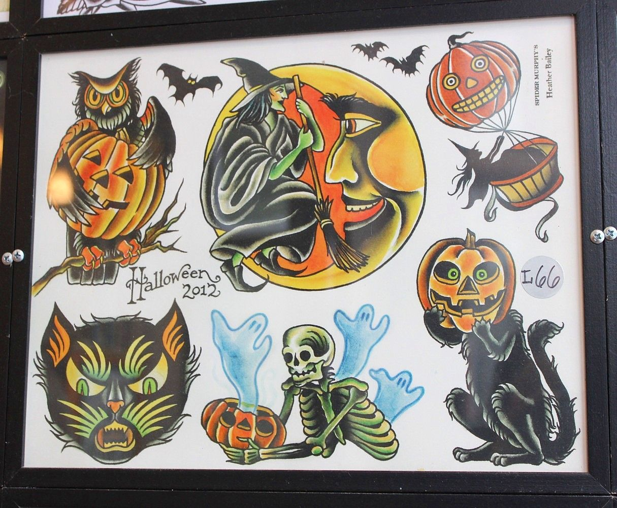Type O Negative halloween tattoo flash 2 sheets limited to 20 sets ...