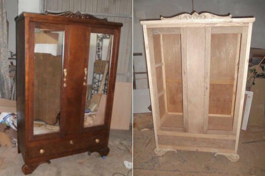 C mo podemos pintar un mueble que est barnizado pintar muebles de madera pintando muebles - Como limpiar muebles de madera barnizados ...